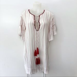 Anthropologie Blouse Moon River XL Tunic Tassels